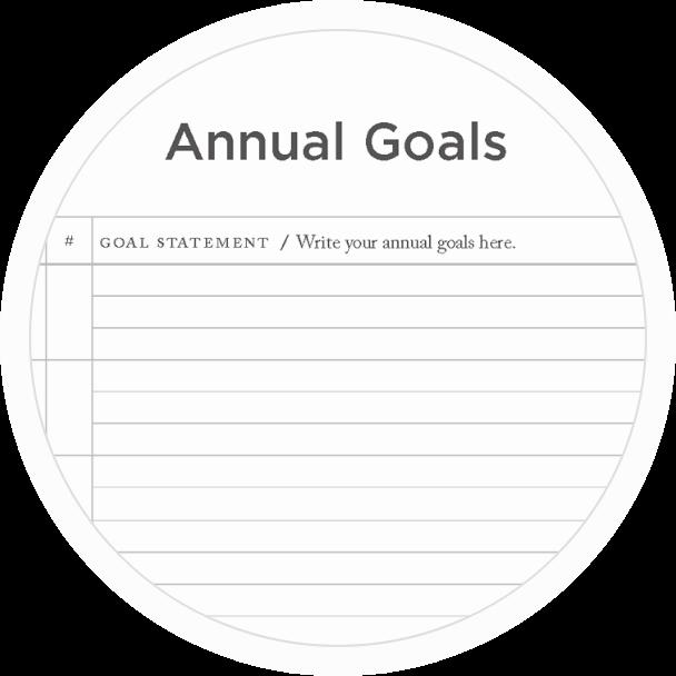 Achieve annual goals in your Full Focus Planner