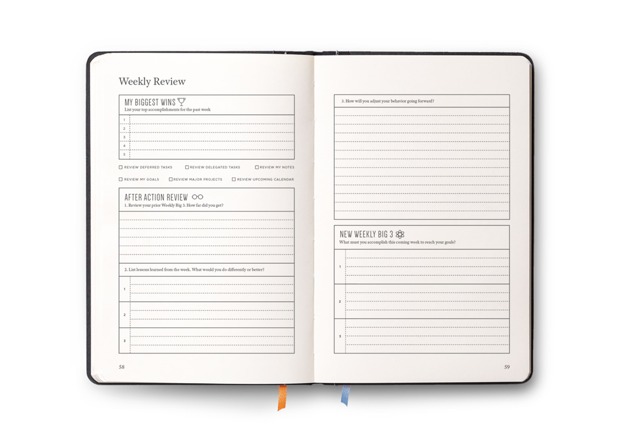 Full Focus Planner A Planner By Michael Hyatt - Productivity planner review